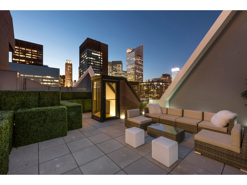 49th Street Pristine Penthouse with HUGE Roof Terrace Open